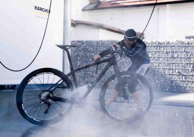 Fahrrad Waschen Reinigung